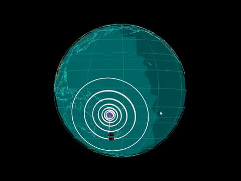 EQ3D ALERT: 11/19/17 - 6.7 and 7.0 magnitude earthquake in the South Pacific Ocean