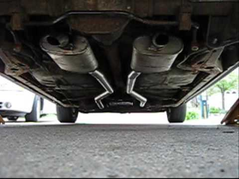 1990 lincoln town car dual exhaust