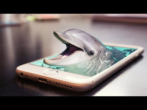 Dolphin In The Phone   3D Photo Manipulation   Adobe Photoshop Tutorial thumbnail