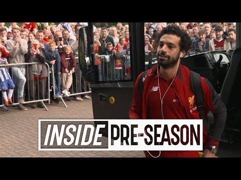 Inside Pre-Season | Behind the scenes from Mo Salah's Liverpool debut | Tunnel Cam v Wigan