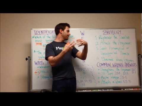 GMAT Tuesday: Critical Reasoning - Weakening an Argument