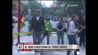 El MAS cuestiona el paro cívico que se llevó a cabo este martes en Cochabamba