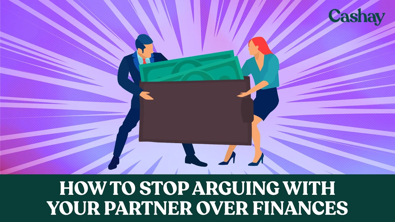 How to stop arguing with your partner over finances