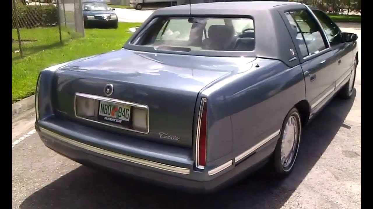 for sale 1999 cadillac deville d elegance sedan like new super clean call 305 310 1223 youtube [ 1280 x 720 Pixel ]