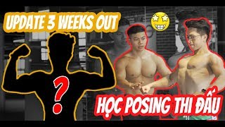 EP 94: 3 WEEKS OUT UPDATE  TIPS POSING THI ĐẤU   An Nguyen Fitness