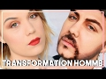 JE SUIS UN HOMME TRANSFORMATION FEMME HOMME TUTORIEL MAKE UP FX