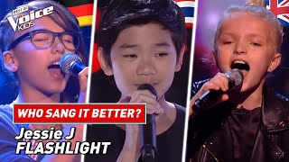 "Who sang Jessie J's ""Flashlight"" better? 🔦 | The Voice Kids screenshot 1"