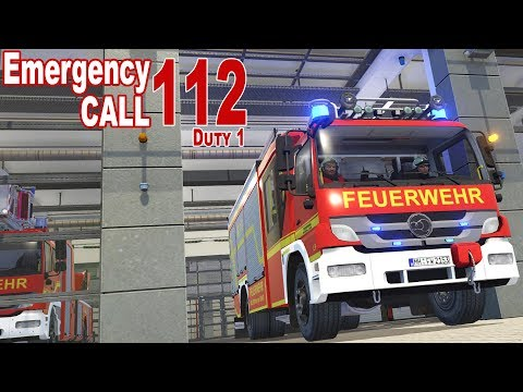 I'M A FIREMAN! – Emergency Call 112: Firefighting Simulation – Ep.1 (English)
