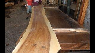Suar Wood Table   Wood Dining Table Slab