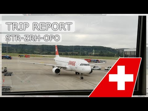 TRIP REPORT | Stuttgart-Zürich-Porto | SWISS | ARJ100/A320