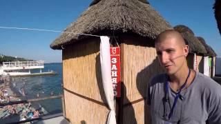 КРЫМ  пляж МАССАНДРА / отдых в Крыму(Крым. Флайборд. Сон у моря и мороженное