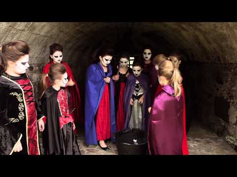 Shakespeare's Kids Macbeth at Stirling  Castle 2014