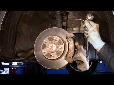 How to replace front and rear brakes 2014 Hyundai Elantra