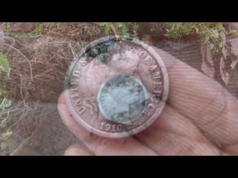 Kentucky Dirt Diggers - Episode 2 : Post Office Silver - Metal Detecting