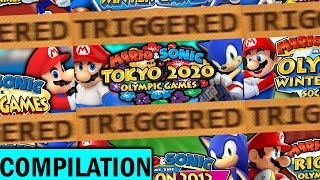 The Mario and Sonic at the Olympic Games TRIGGERS You Compilation!