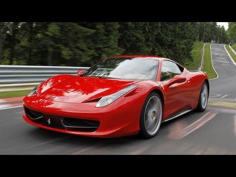 Ferrari 458 Italia Im Sportauto Supertest Youtube