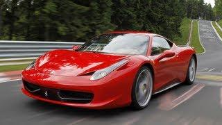 Ferrari 458 Italia im SPORTAUTO-Supertest