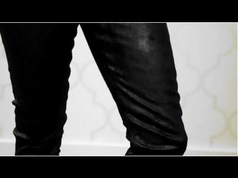 DIY Fashion, Coated Denim Jeans, Fab Flash