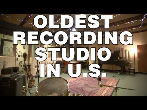 Check out Sugar Hill Studios, the oldest recording studio in the US