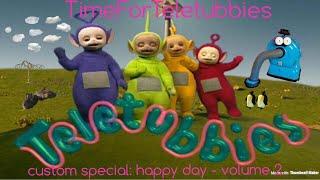 teletubbies. custom special: happy day. volume 2.