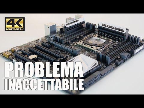 PROBLEMA USB X99 ASUS + GIGABYTE X99 UD4P E SEIDON 120 COOLER MASTER - 4K UHD ITA