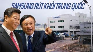 Nhà máy cuối cùng của Samsung rút khỏi Trung Quốc, thất nghiệp lan rộng