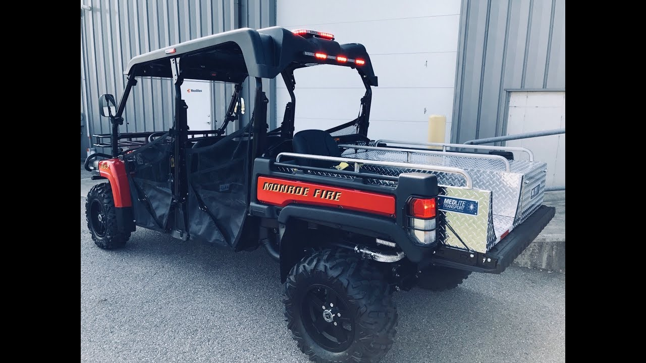 John Deere Gator >> 2017 John Deere Gator EMS Unit Install for Monroe Fire Dept. (Ohio) - YouTube