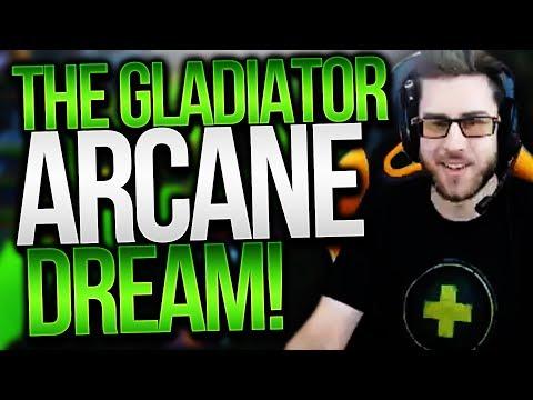 CDEW'S ARCANE MAGE GLAD DREAM? Glad Push 7.2 Legion Arena Gameplay