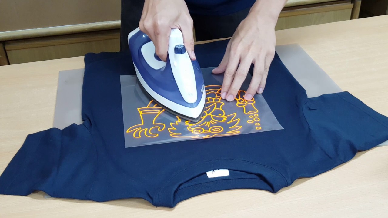 How to create your own t shirt with scan cut youtube for Make your own t shirt with photo