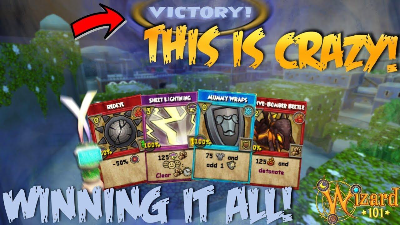 Wizard101: WINNING the *NEW* Beastmoon Hunt Event! (CRAZY SPELLS, CAPTURE  THE ZONE)