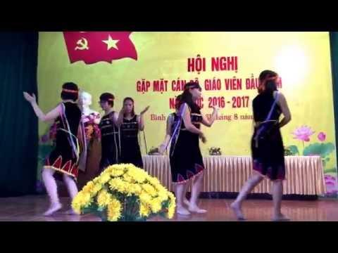 Múa Tiếng Chày Trên Sóc Bom Bo - Trường THCS Bình Minh