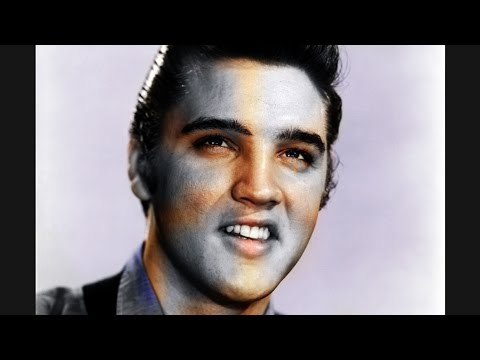 colorizing RARE old photo of ELVIS PRESLEY!