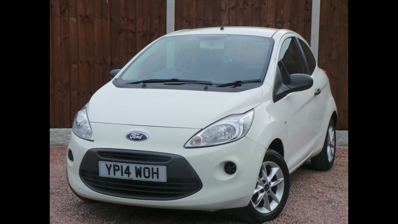 Ford Ka   Studio Connect Dr Start Stop Inc Bluetooth In White