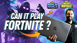 CAN IT PLAY FORTNITE? // Laptop Integrated Graphics // (Also Realm Royale)