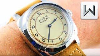 Panerai Radiomir 1940 3-Days Art Deco Ivory Dial (PAM 791) Luxury Watch Review