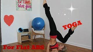 Йога для плоского живота/ Вторник/ Flat ABS yoga/ Йога для похудения(Привет ребятки! Сегодня вторник - делаем йогу для похудения и проработки мышц живота и всего корсета! Итак..., 2015-03-24T14:59:44.000Z)
