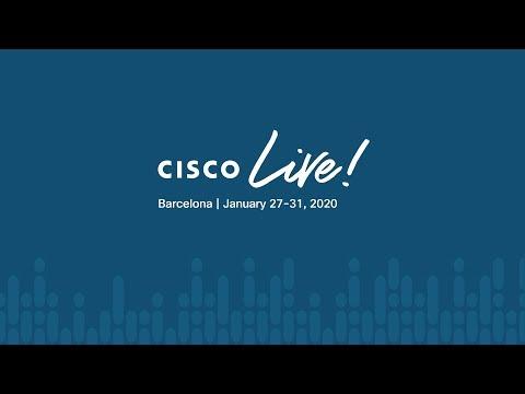 Opening Keynote – Cisco Live 2020, Barcelona