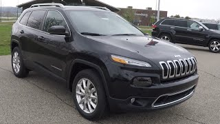 New 2015 Jeep Cherokee Limited 4X4 Black | Martinsville, Indiana | 17872