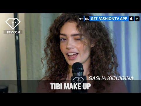 New York Fashion Week Fall/Winter 18 19 - Tibi Make Up | FashionTV | FTV