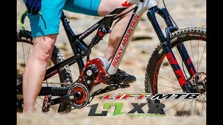Tech / Pédalier HXR EASY SHIFT disponible sur le  LIFT-MTB V3