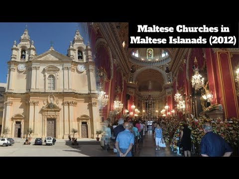 Maltese churches around malta gozo and comino inside for Inside and outside pictures