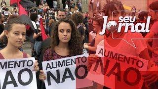 Aumento da tarifa dos transportes em SP gera novo protesto