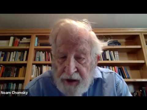 Noam Chomsky: Coronavirus - What is at stake?   DiEM25 TV