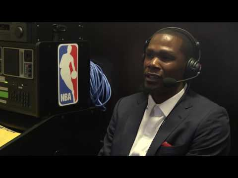Kevin Durant's exclusive interview with Golden State Warriors flagship