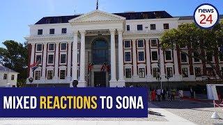 WATCH: Mixed reaction to Ramaphosa's SONA speech