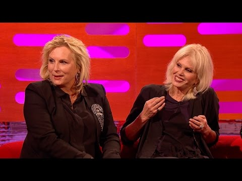 Jennifer Saunders and Joanna Lumley's awkward first meeting - The Graham Norton Show - BBC One