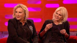 Jennifer Saunders And Joanna Lumley's Awkward First Meeting - The Graham Norton Show - Bbc One