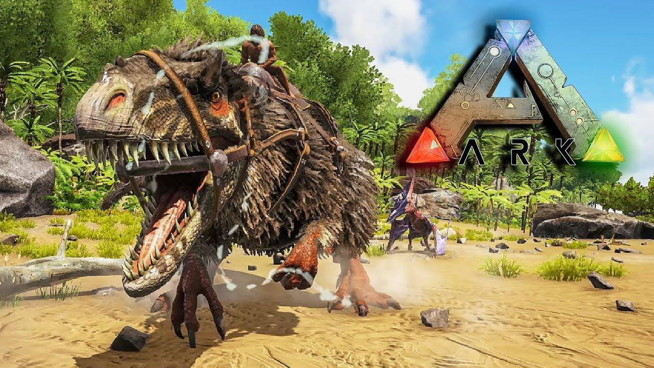 NAJJACI DINOSAURUS U IGRICI?! (Ark Survival Evolved) Island