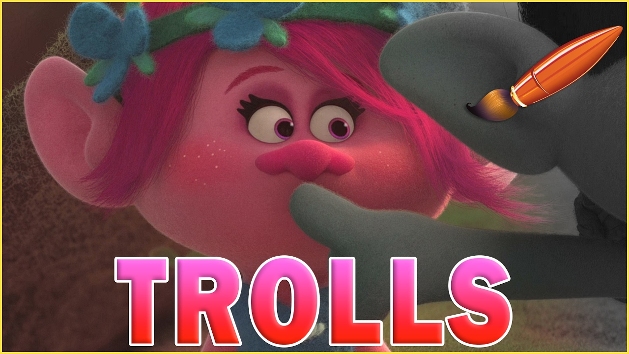Coloring Pages Trolls : Trolls movie poppy branch sssh kids coloring book coloring