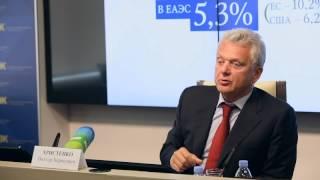 Выступление Виктора Христенко на летней школе ЕЭК и РСМД